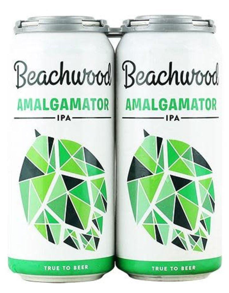 Beachwood Brewing Amalgamator IPA 4 pack 16 oz