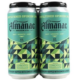 Almanac Almanac Unfiltered Opinion Hazy IPA 4 pack 16 oz
