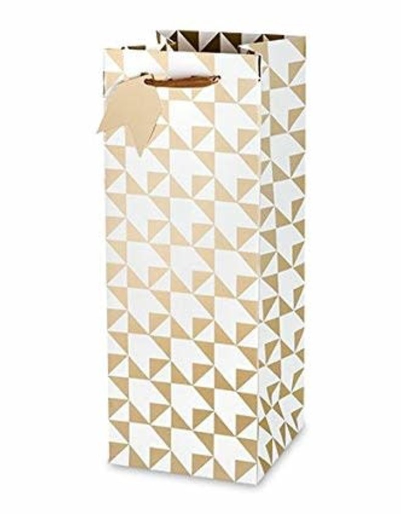 Cakewalk Cakewalk Gold Arrow Champagne and Liquor Gift Bag
