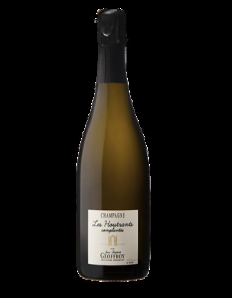 Rene Geoffroy 2009 Jean-Baptiste Geoffroy Les Houtrants complantes Champagne Extra-Brut 750 ml