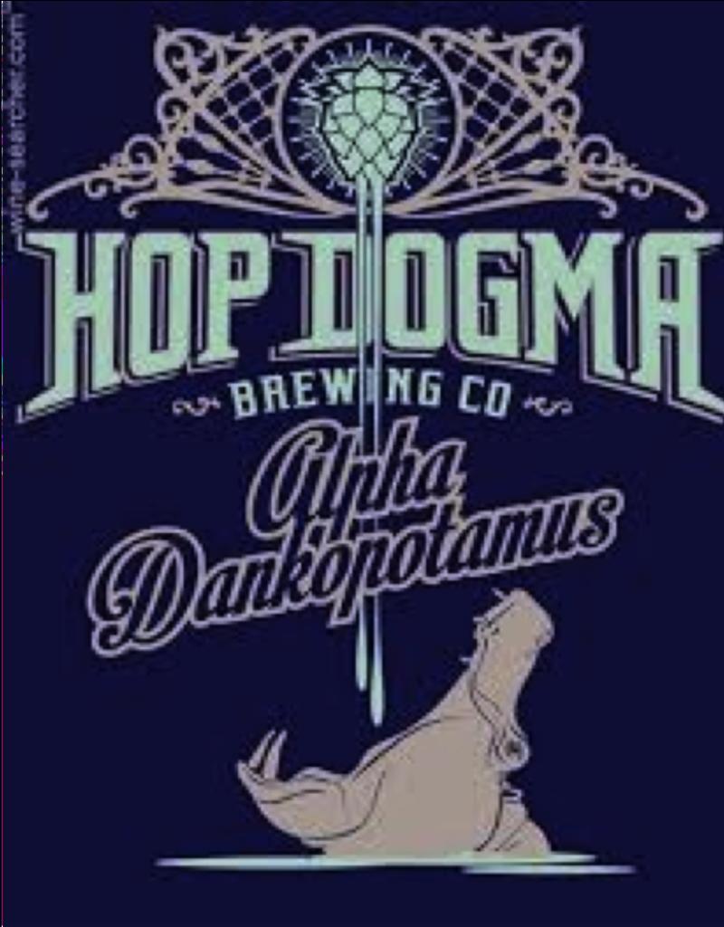 Hop Dogma Hop Dogma Alphadankopotomus IPA  4 pack 16 oz