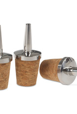 Cocktail Kingdom Cocktail Kingdom Bitters Bottle Stainless Steel Dasher Top 3 pack
