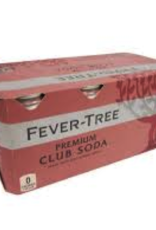 Fever Tree Fever Tree Club Soda CANS 8 pack 150 ml