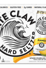 Whiteclaw Natural Mango Hard Seltzer 6 pack 12 oz