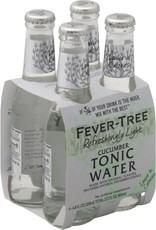 Fever Tree Fever Tree Light Cucumber Tonic Water  4 pack 200 ml