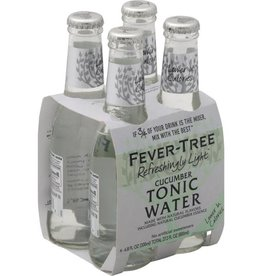 Fever Tree Fever Tree Cucumber Tonic Water  4 pack 200 ml