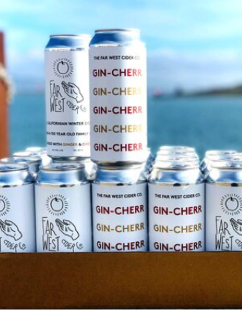 Far West Cider Co. Gin-Cher Cider CANS California 16 oz