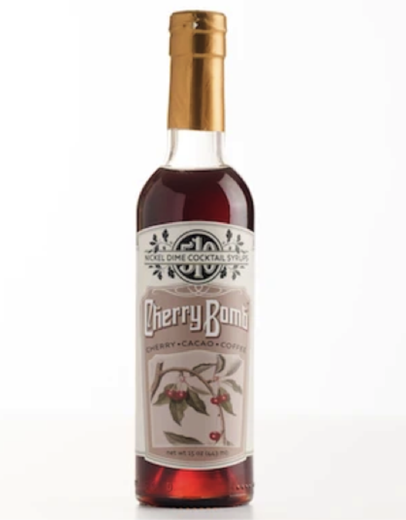 Nickel Dime Cherry Bomb Cocktail Syrup  375 ml