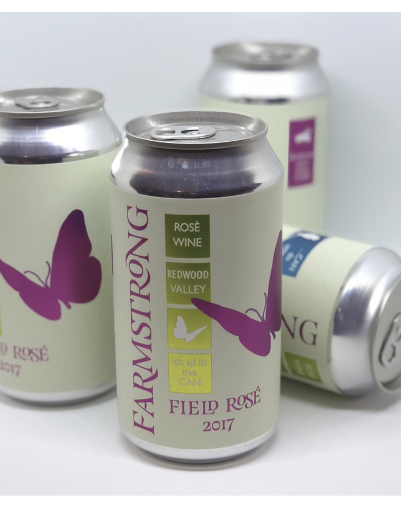 2017 Farmstrong Field Rosé Cans  4 pack 12 oz