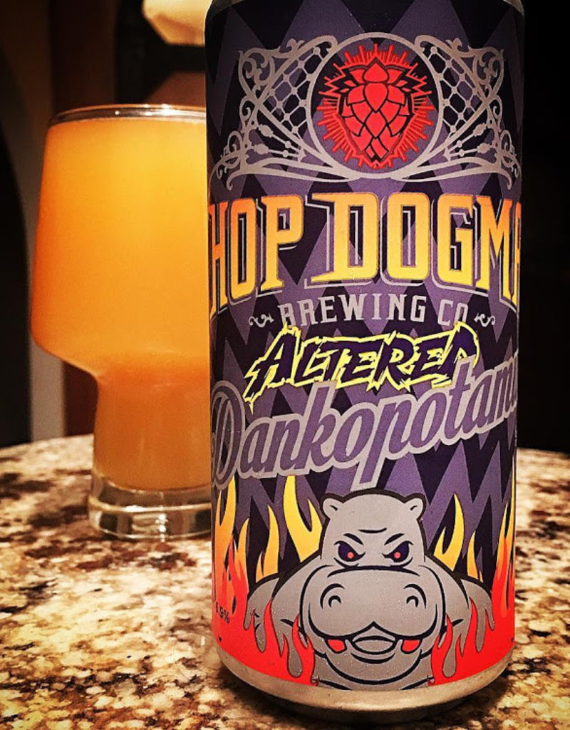 Hop Dogma Hop Dogma Altered-dankopotomus Hazy IPA  4 pack 16 oz