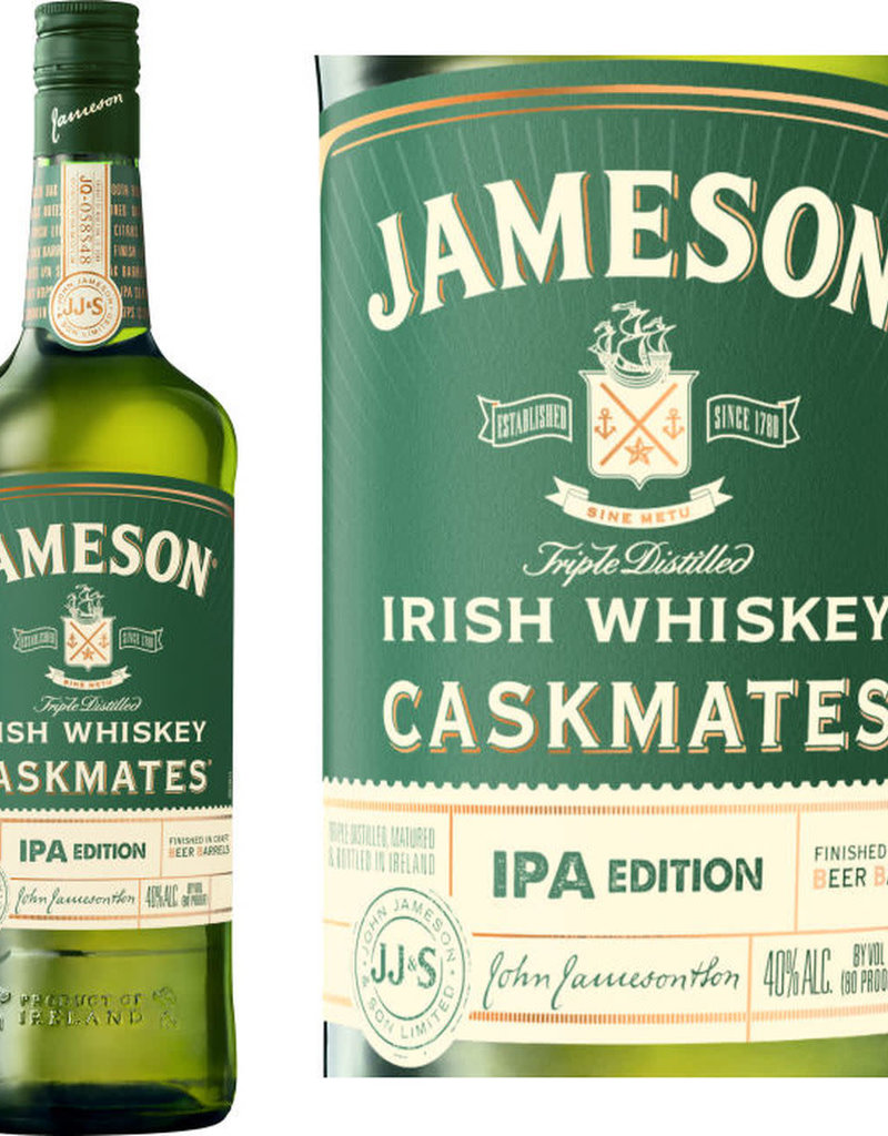 Jameson's Jameson Caskmate IPA Barrel finished Irish Whiskey  1000 ml