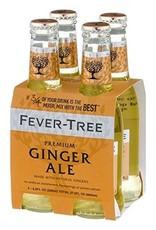 Fever Tree Fever Tree Ginger Ale  4 pack 200 ml