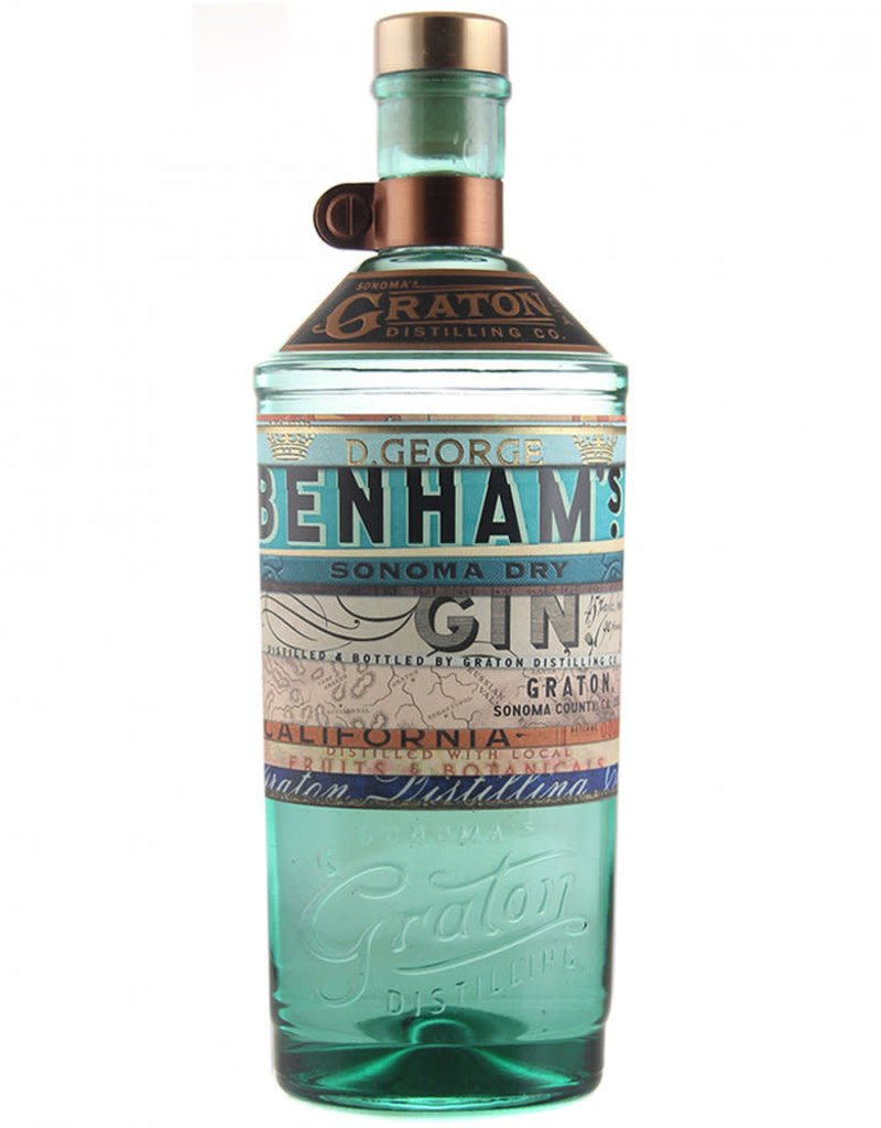 D. George Benham's Sonoma Dry Gin 750 ml