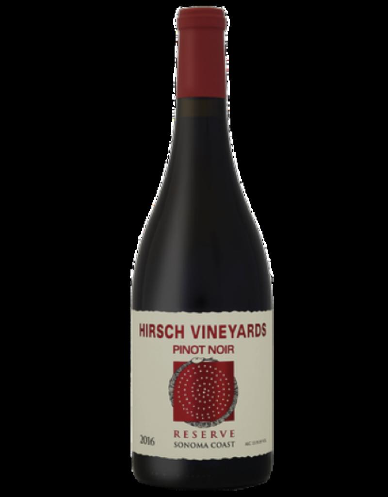Hirsch Vineyards 2016 Hirsch Vineyards Reserve Pinot Noir Sonoma Coast  750 ml