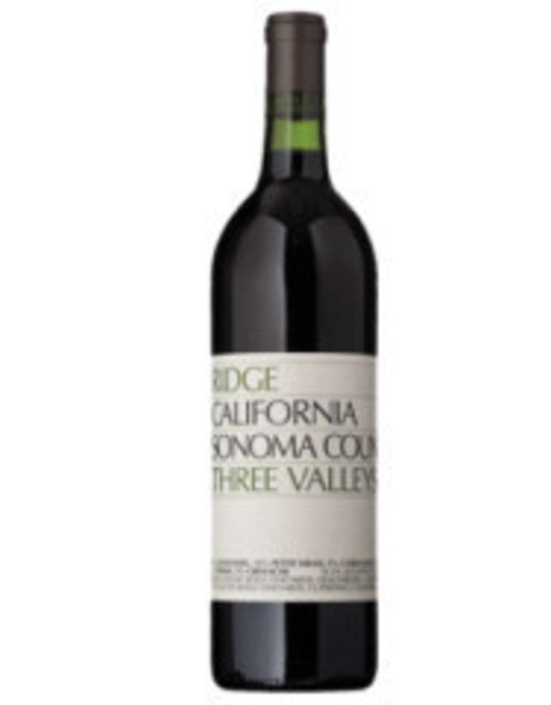 Ridge 2018 Ridge Three Valleys Zinfandel  750 ml