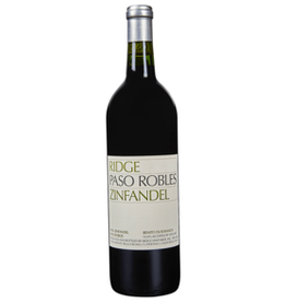 Ridge 2017 Ridge Paso Robles Zinfandel  750 ml