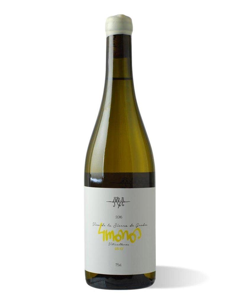 2017 4 Monos GR-10 Blanco Vinas de Madrid 750 ml