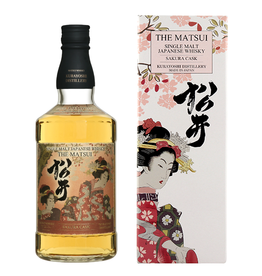 Matsui Sakura Cask Aged Japanese Single Malt Whisky 750ml