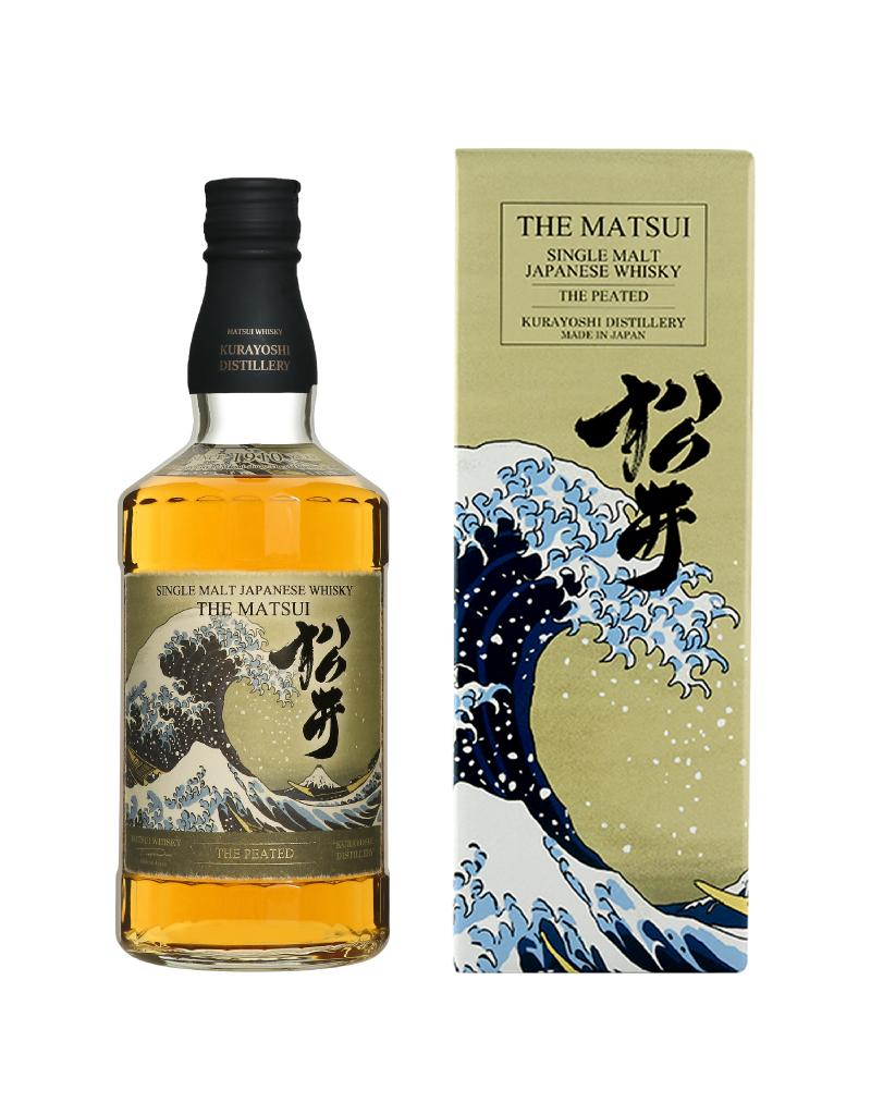 Matsui The Peated Japanese Single Malt Whisky 750ml