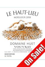Huet 2015 Dom. Huet Le Haut-Lieu Moelleux Vouvray  750 ml