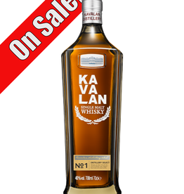 Kavalan Distillery Select Taiwanese Whisky 750 ml