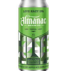 Almanac Beer Co. Almanac Love Hazy IPA  4 pack 16 oz