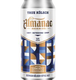 Almanac Almanac True Kolsch 4 pack 16 oz