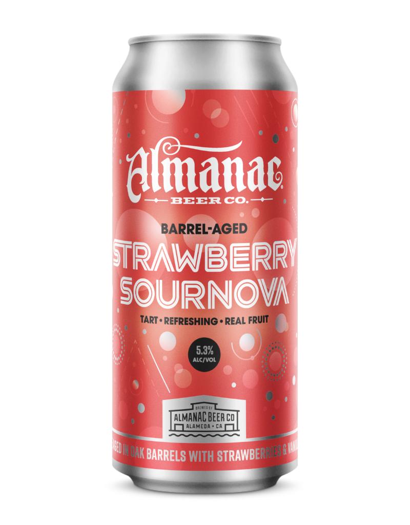 Almanac Beer Co. Almanac Rotating Barrel-Aged Sournova 4 pack 16 oz