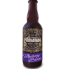 Almanac Beer Co. Almanac Blueberry Sierra Oak-Aged Flanders-Style Sour Ale 375 ml