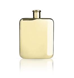 True Brands True Viski Flask Gold 6 oz