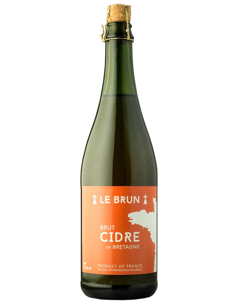 Le Brun Le Brun Brut Cidre de Bretagne  750 ml