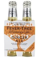 Fever Tree Fever Tree Natural Light Ginger Ale  4 pack 200 ml