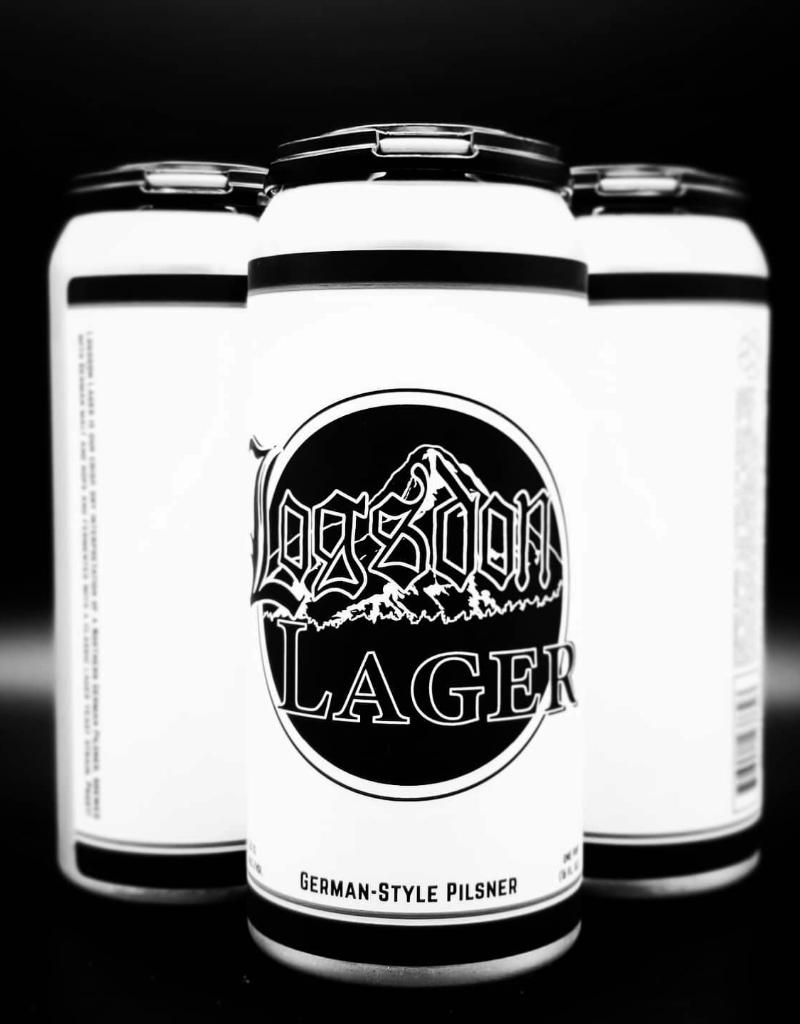 Logsdon Logsdon Lager CANS 4 pack 16 oz