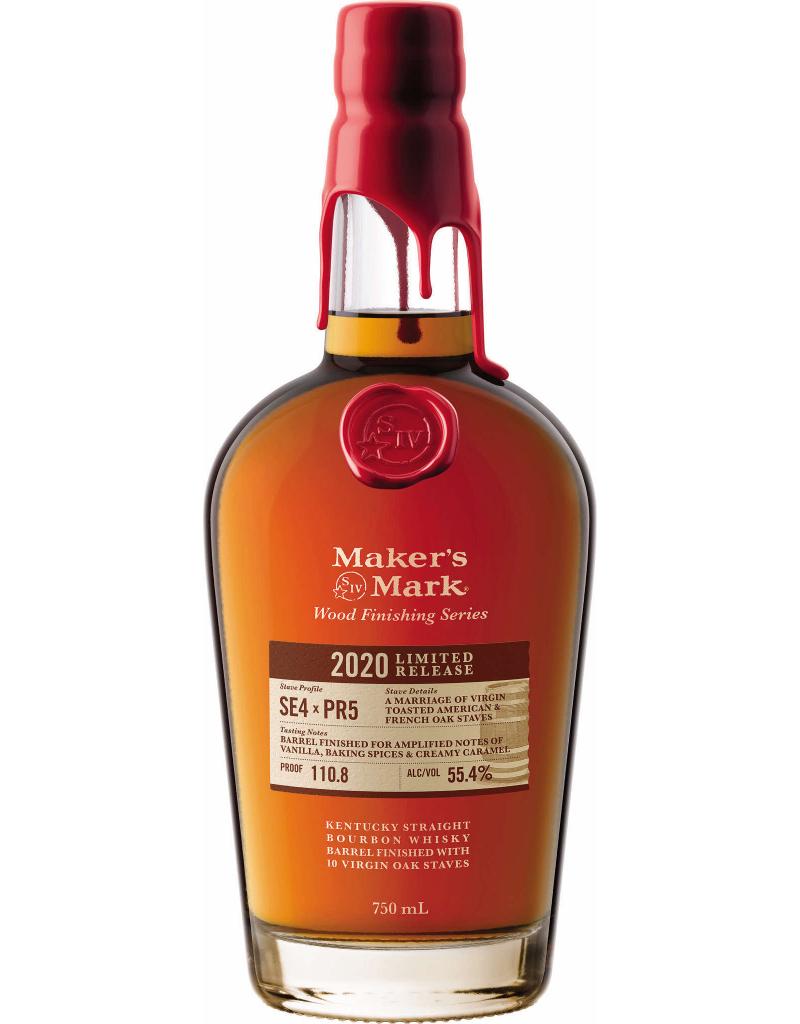 2020 Maker's Mark Wood Finish SE4 x PR5 Bourbon 750 ml