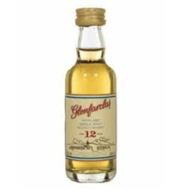 Glenfarclas Glenfarclas 12 year old Highland Single Malt Scotch  50 ml