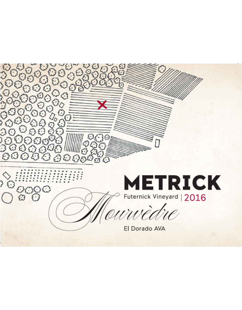 2018 Metrick Futernick Vineyard Mourvedre El Dorado 750 ml