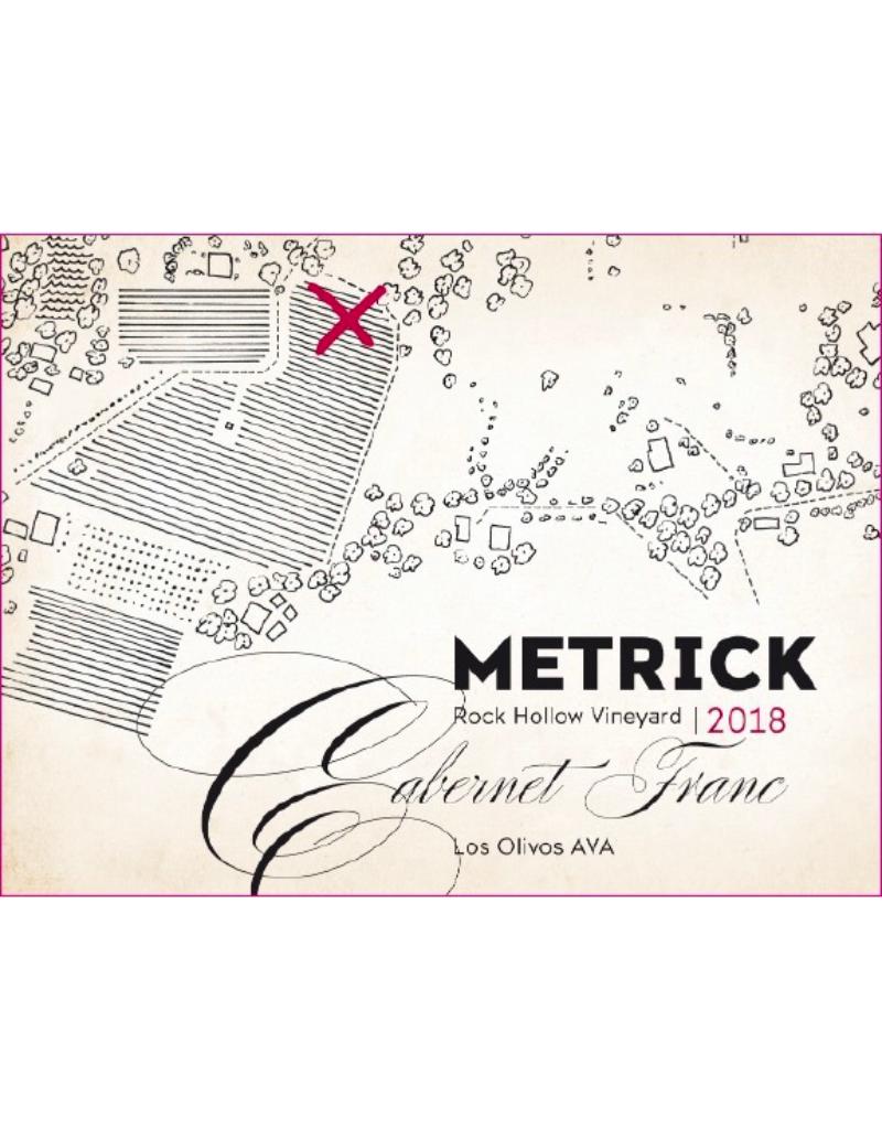 2018 Metrick Rock Hollow Vineyard Cabernet Franc Los Olivos 750 ml