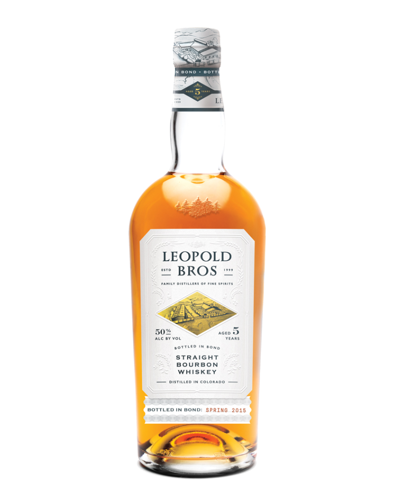Leopold Bros. Leopold Bros. 5 year old Bottled-in-Bond  Bourbon  750 ml