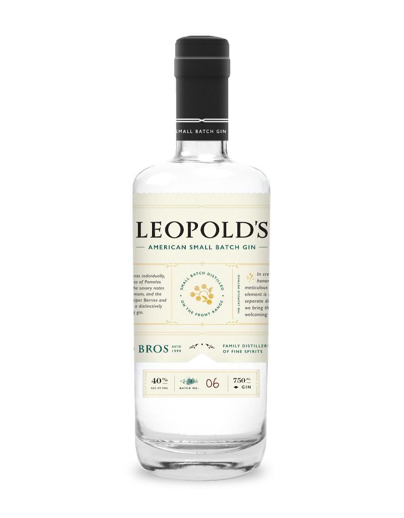 Leopold Bros. Leopold Bros. American Small Batch Gin  750 ml