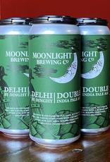 Moonlight Brewing Co. Delhi by Dinghy DIPA 4 pack 16 oz