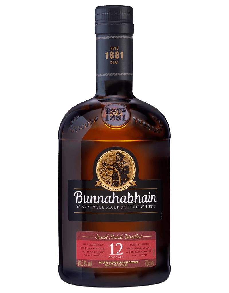 Bunnahabhain 12 year old Single Malt Scotch 750 ml