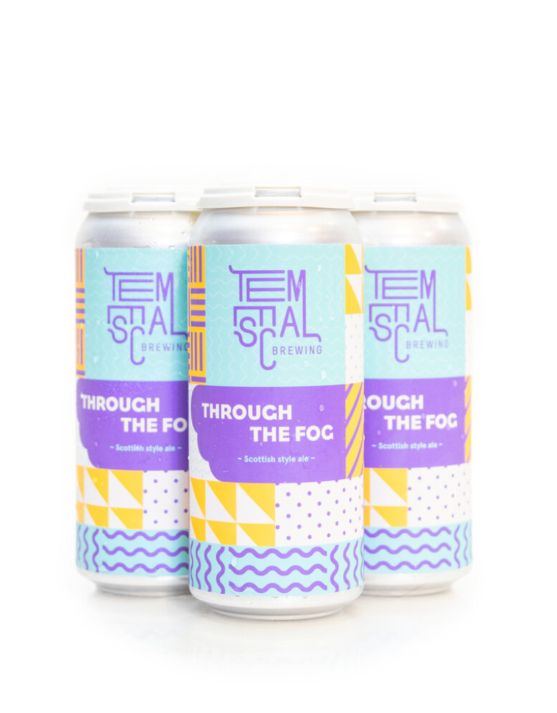 Temescal Brewing Through The Fog Scottish Ale 4 pack 16 oz