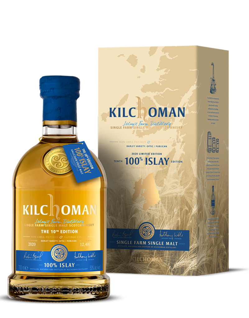 Kilchoman Kilchoman 10th Edition Single Farm Islay Single Malt Scotch 750 ml