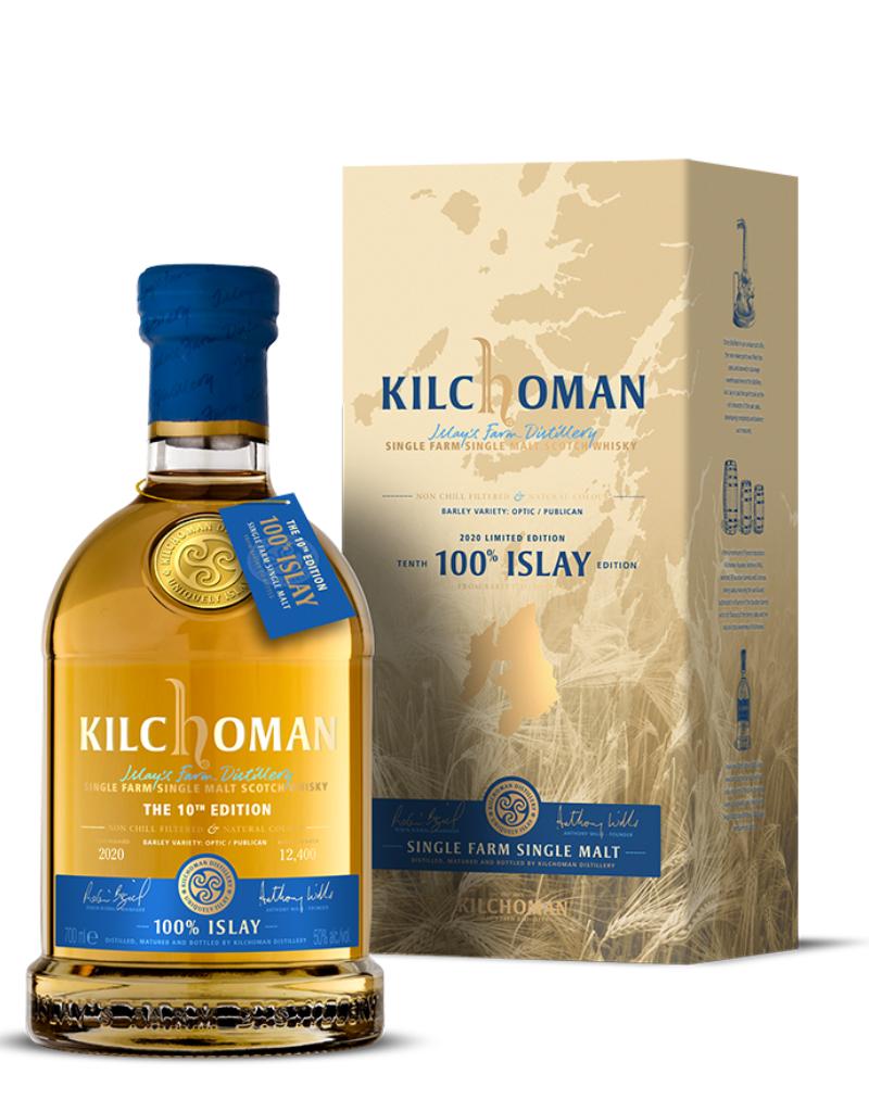 Kilchoman Kilchoman 10th Edition Single Farm Islay Single Malt Scotch 750 ml