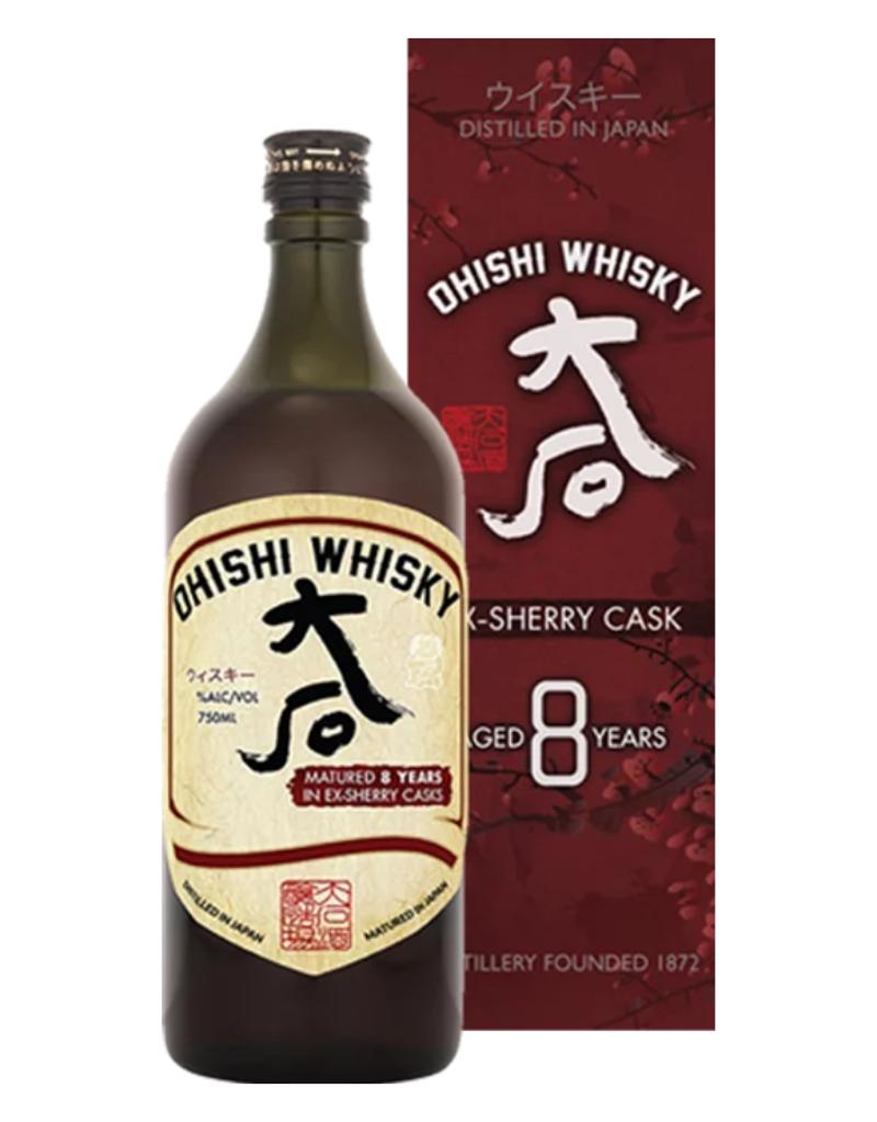 Ohishi Ex-Sherry Cask 8 year old Japanese Whisky 750 ml