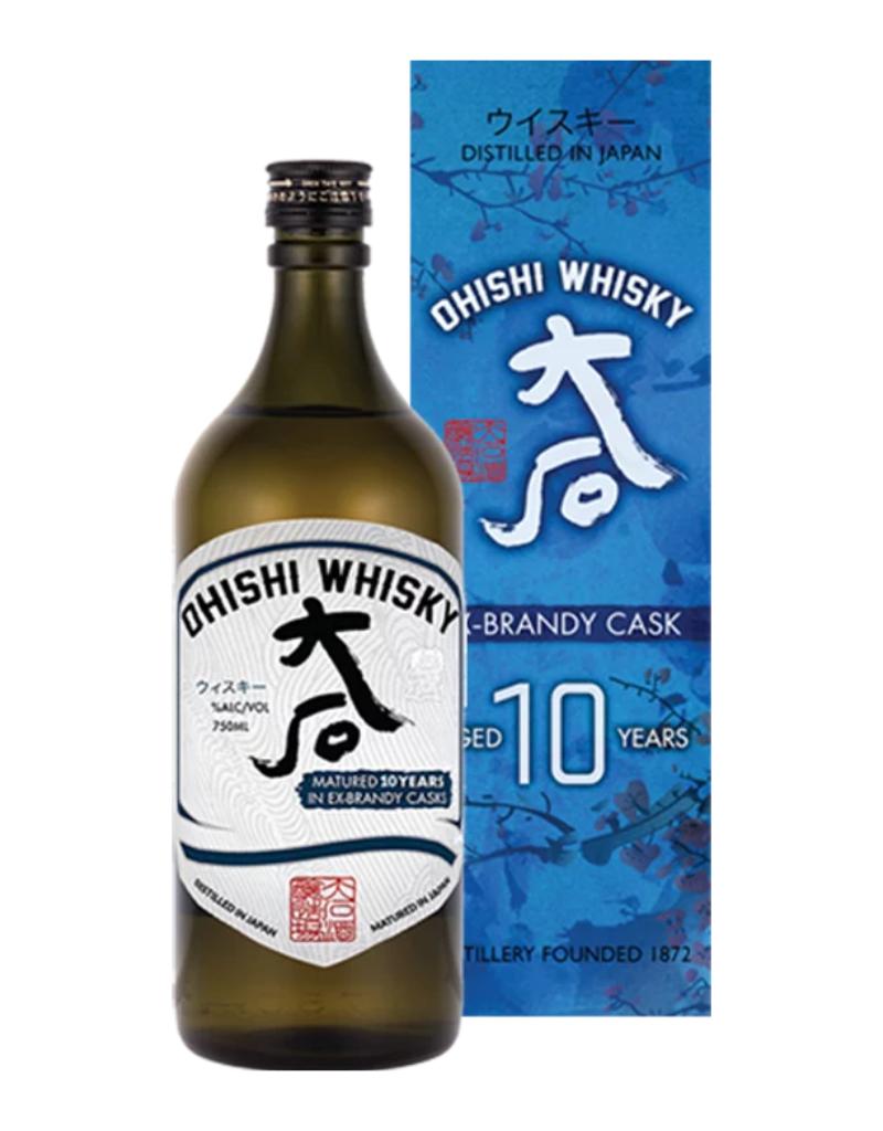 Ohishi Ex-Brandy Cask 10 year old Japanese Whisky 750 ml