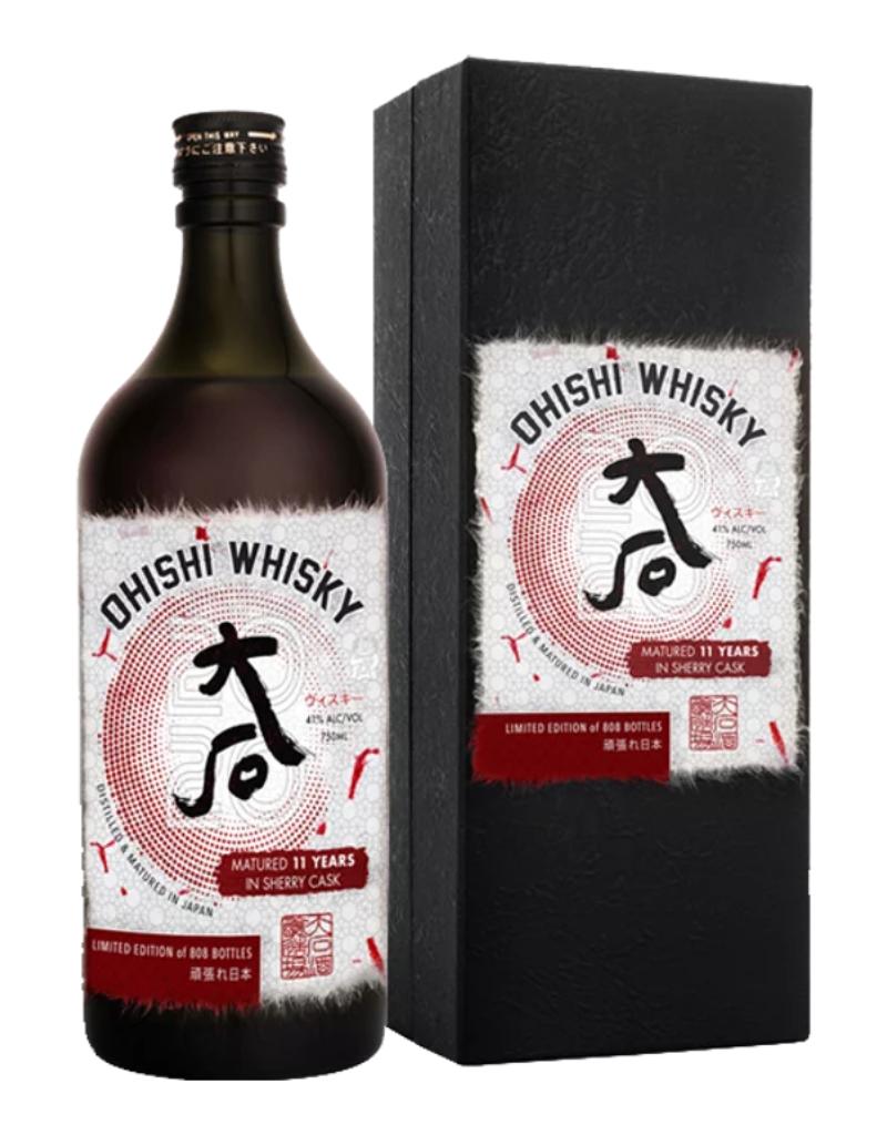 Ohishi Sherry Cask 11 year old Japanese Whisky 750 ml