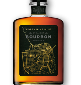 San Francisco Distilling Co. Forty Nine Mile Straight Bourbon Whiskey  750 ml