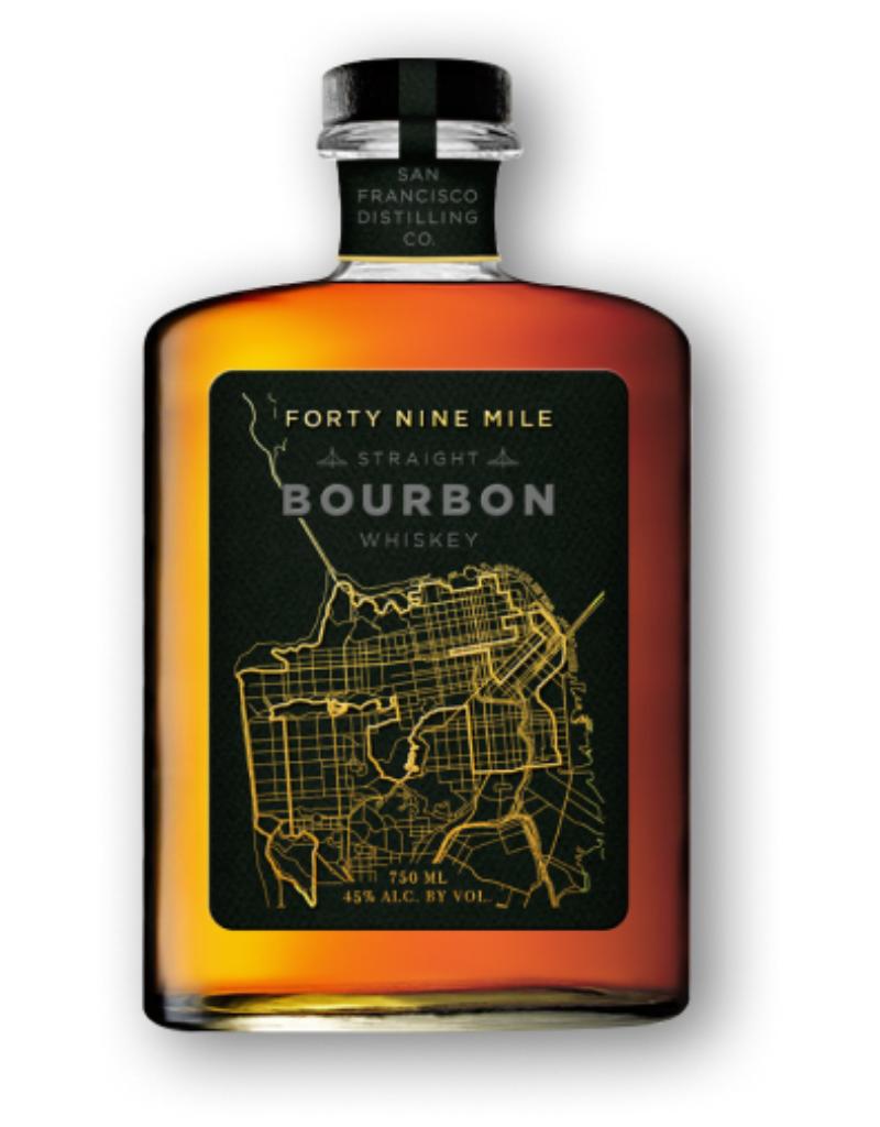 San Francisco Distilling Co. Forty Nine Mile Straight Bourbon Whiskey  750 ml