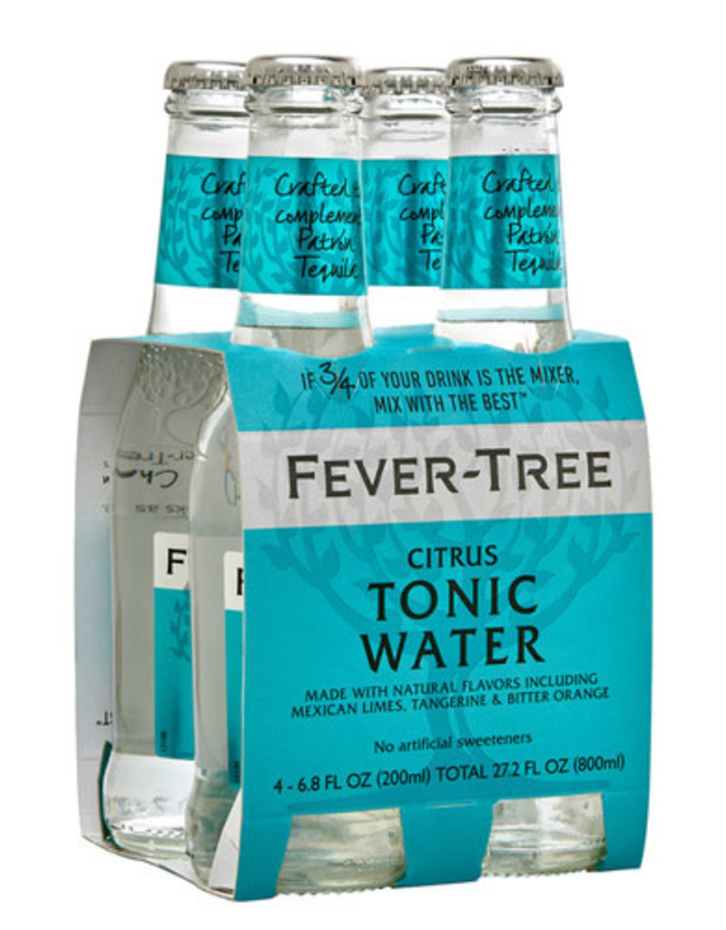 Fever Tree Fever Tree Citrus Tonic Water  4 pack 200 ml